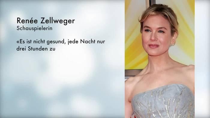 News video: Renée Zellweger ist an ihrem Job fast «kaputtgegangen»