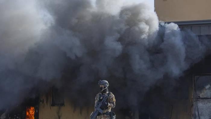 Video: Nach Raketenbeschuss: Lage im Irak extrem angespannt