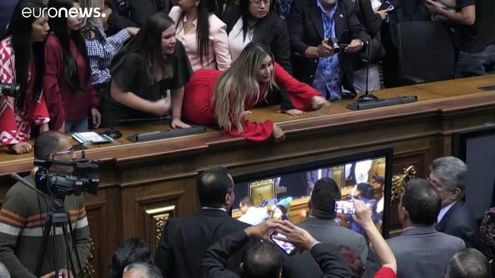 Video: Venezuela hat nun zwei konkurrierende Parlamente