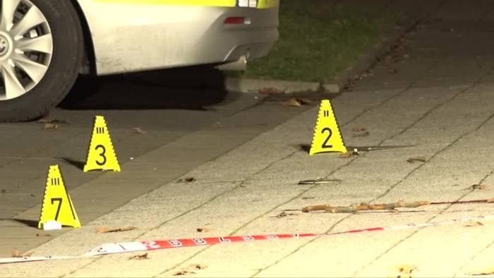News video: Polizist erschießt mutmaßlichen Angreifer in Gelsenkirchen