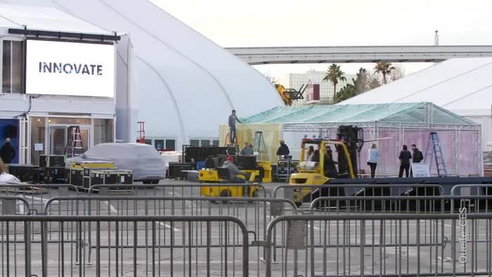 News video: Blick in die Zukunft: Technik-Messe CES öffnet in Las Vegas