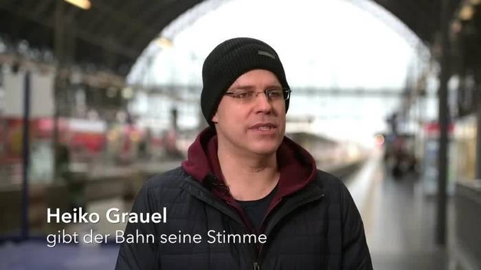 News video: Die Stimme der Bahn: Neuer Ansager in Frankfurt vorgestellt