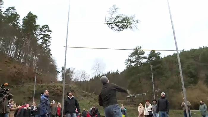 News video: Fliegende Fichten bei Knut-WM in der Pfalz