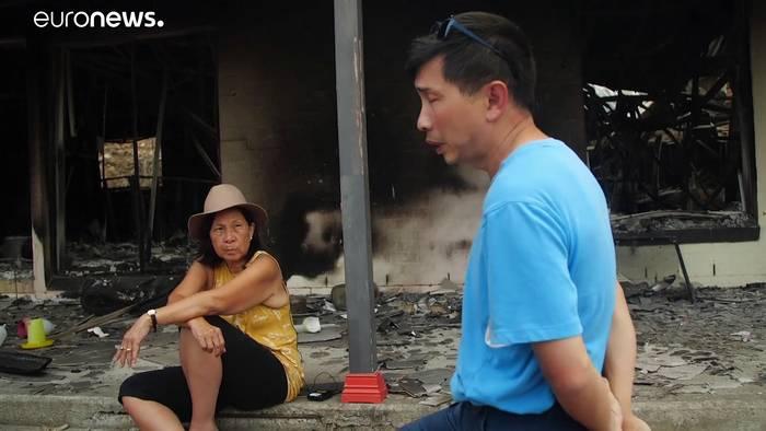 Video: Australischer Rauch zieht 11000 Kilometer bis Südmamerika