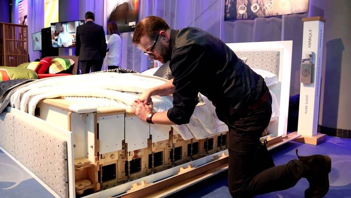 News video: Schlafen wie ein König: Das perfekte Bett