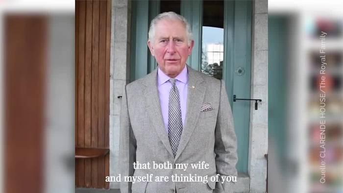 Video: Prinz Charles tröstet Australier mit Videobotschaft