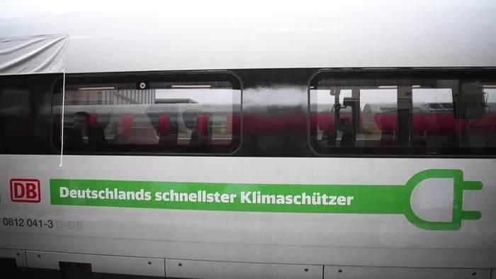 News video: ICE 4 als neuer Botschafter Baden-Württembergs unterwegs