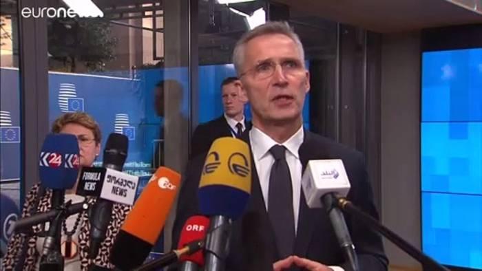 """Video: Flugzeugabsturz: Stoltenberg will """"alle Fakten"""""""
