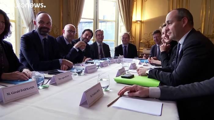 Video: Streik: Verhandlungen in Paris