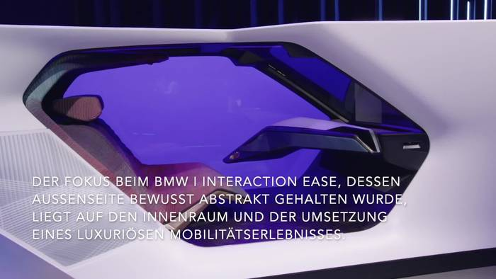 News video: CES 2020 - BMW i Interaction EASE