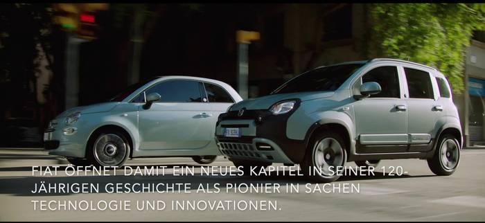 News video: Fiat startet Elektrifizierung mit Hybrid-Versionen von Fiat 500 und Fiat Panda
