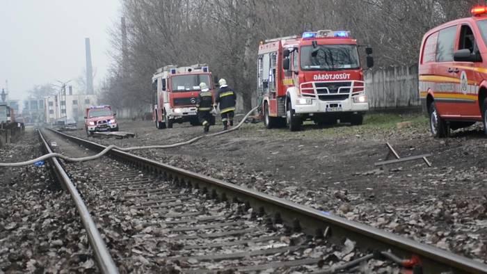 Video: Feueralarm! Lok brennt im Historischen Eisenbahnpark in Budapest