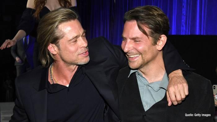 News video: Brad Pitt: So half ihm Bradley Cooper bei seiner Sucht