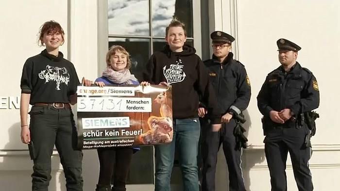 Video: Nach Kritik: Siemens bietet Umweltschützerin Luisa Neubauer Amt an