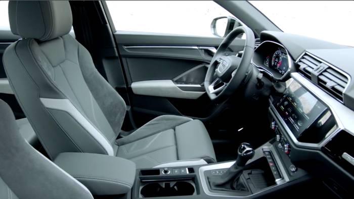 News video: Der Audi Q3 - Variabler Komfort - Interieur und Raumkonzept