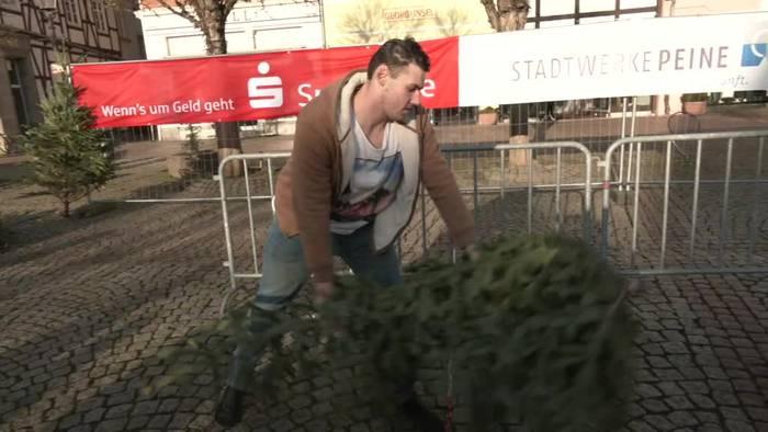 News video: In Peine fliegen wieder die Bäume um die Wette