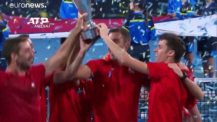 News video: Serbien gewinnt die Premiere des ATP-Cup
