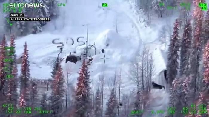 Video: Alaska: Mann überlebt 23 Tage in der Schneewüste