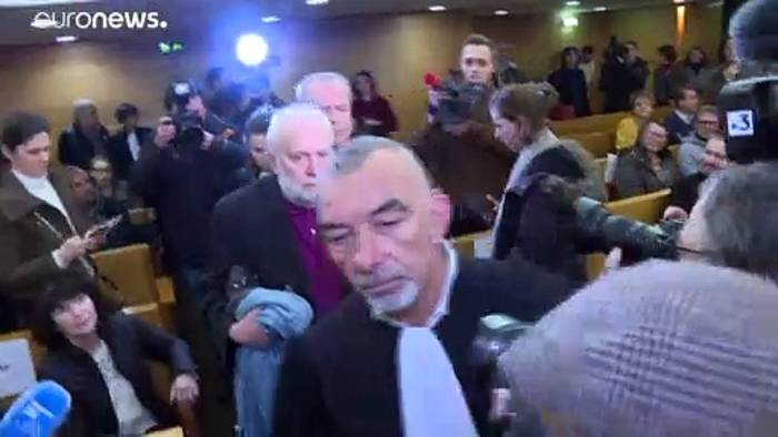 News video: Prozess gegen ehemaligen Priester Preynat (74) vertagt