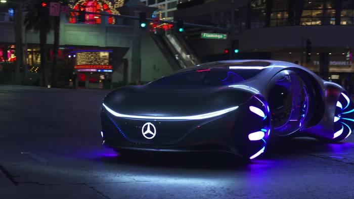Video: Mercedes Vision AVTR – Konzept mit Avatar Genen