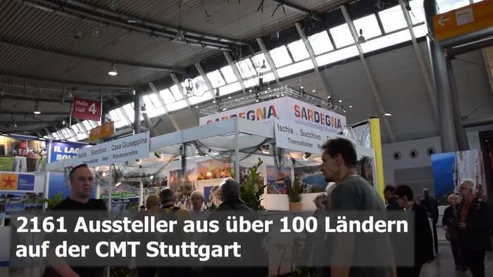 Video: Reisemesse CMT in Stuttgart: 2.161 Aussteller aus über 100 Ländern!