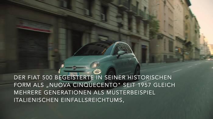 News video: Der Fiat 500 - Die neue Mild-Hybrid-Technologie