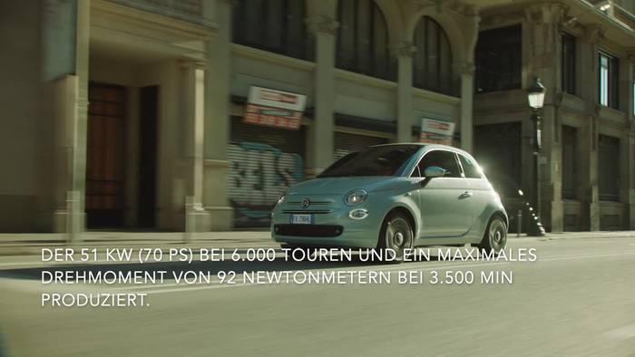 News video: Fiat 500 und Fiat Panda - Die Mild-Hybrid-Technologie von FCA