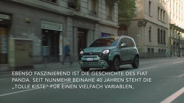 News video: Fiat Panda mit den Hybrid-Versionen