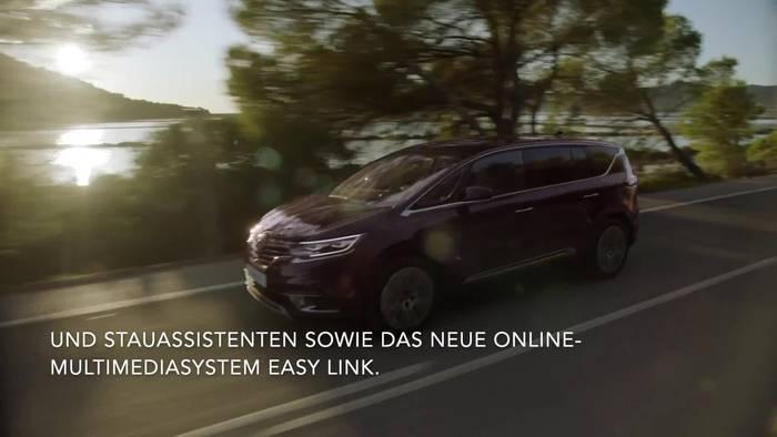 Video: Renault Espace mit neuem LED-MATRIX-Licht und neuen fahrerassistenzsystemen