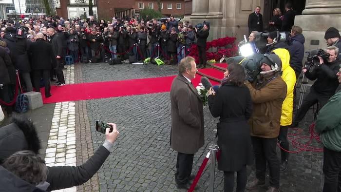 News video: Hamburg nimmt Abschied von Jan Fedder