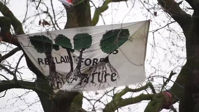 News video: Kann «Hambi Potter» diese Eiche in Castrop-Rauxel retten?