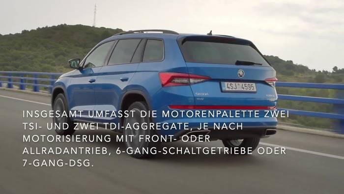 News video: Großes SUV im Jubiläumspaket - der Skoda KODIAQ DRIVE 125