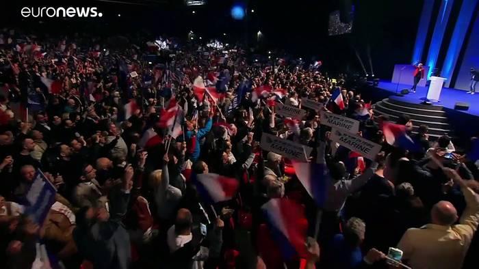 News video: Präsidentschaftswahl 2022: Marine Le Pen will Macron herausfordern