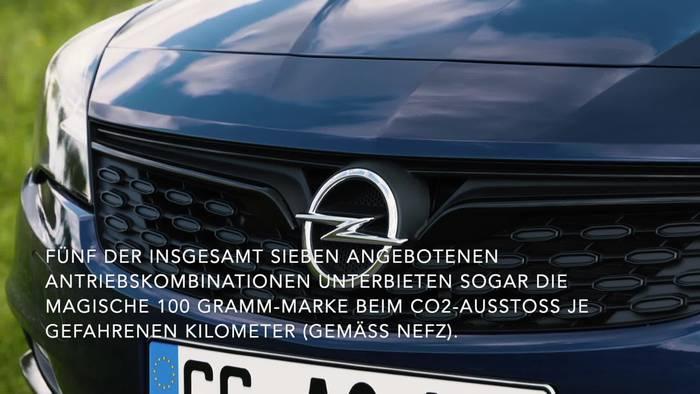News video: Bis zu 21 Prozent weniger CO2 - Der effizienteste Opel Astra aller Zeiten