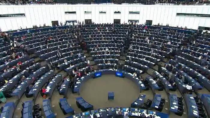 News video: Abschied aus Straßburg - Britische EU-Abgeordnete gehen