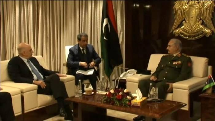 News video: Vor Libyen-Konferenz: General Haftar überraschend in Athen