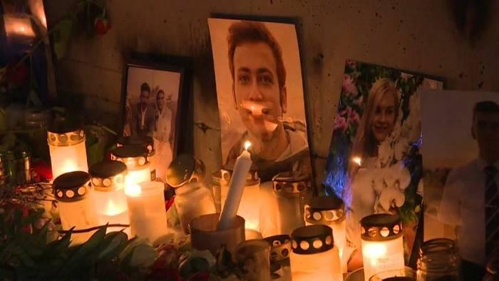 Video: Trauer der Iraner im Ausland: Gedenken an 10 Opfer aus Schweden