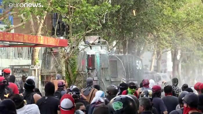 Video: Proteste in Chile: 3 Monate, rund 30 Tote und tausende Verletzte
