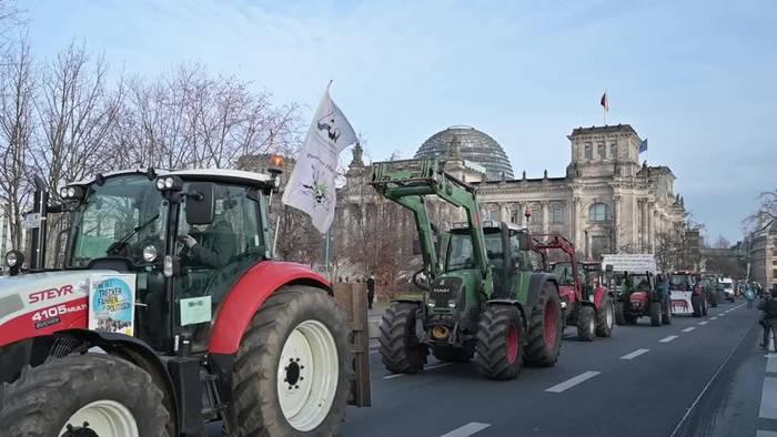 News video: Berlin: Tausende fordern neue Landwirtschaftspolitik