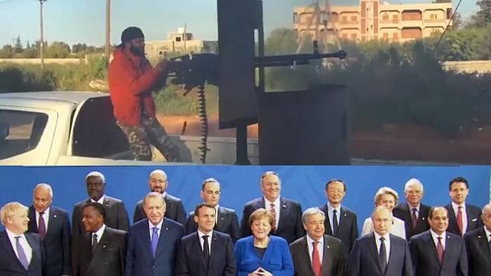 Video: Libyen-Konferenz bei Angela Merkel mit allen wichtigen Kontrahenden: Vom Schlachtfeld nach Berlin