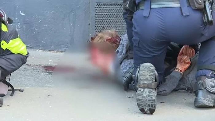Video: Gewalt bei Gelbwesten-Demo: Ermittlungen gegen Polizisten