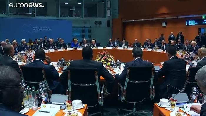 News video: Libyen-Konferenz: Keine Truppen und Waffen mehr
