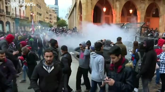News video: Gewalt im Libanon - Mindestens 70 Verletzte in Beirut