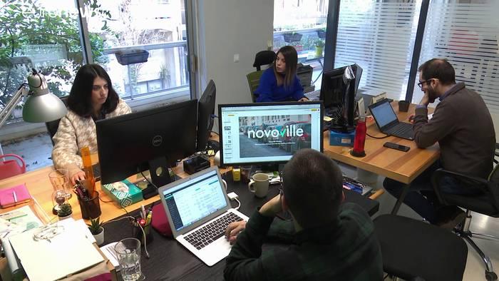 News video: Brexit: Start-ups in Griechenland haben Angst vor der Zukunft