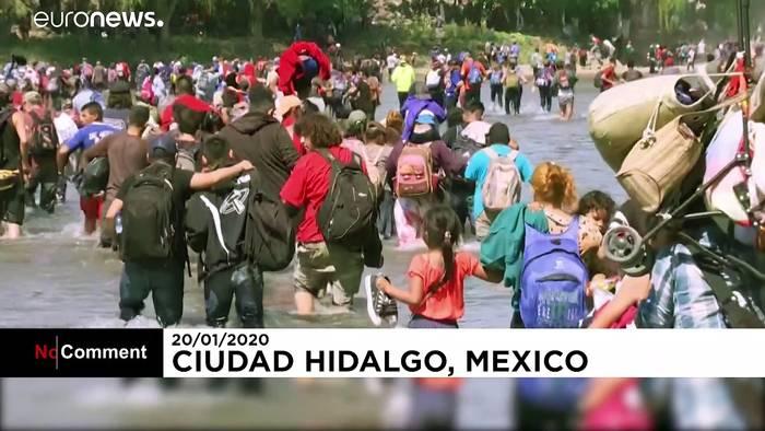 Video: Flucht von Guatemala nach Mexiko