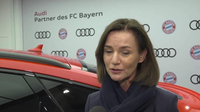 News video: Audi und FC Bayern gehen gemeinsam in die Zukunft - Hildegard Wortmann