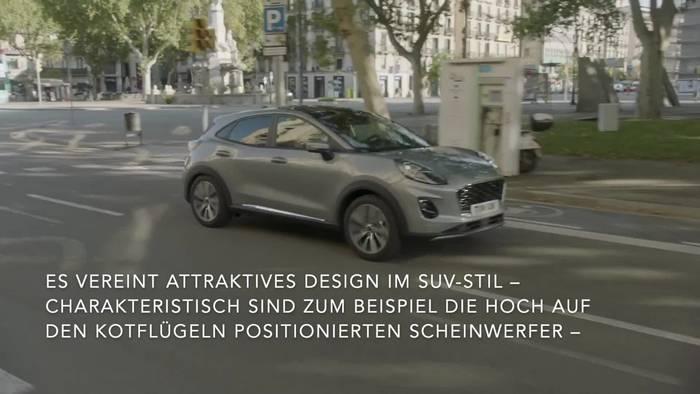 News video: Der Neue Ford Puma - Ein Crossover SUV Mit Attraktivem Design