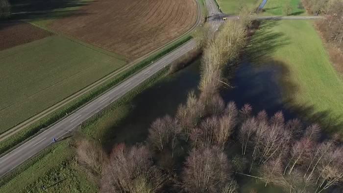 News video: Biber fluten Feld: «Bibersee» sieht man auf Google Maps