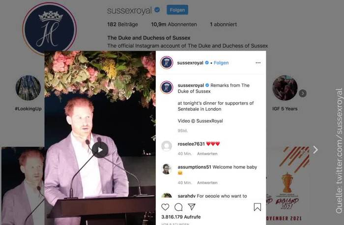 News video: Prinz Harry: Bin traurig, dass es soweit gekommen ist