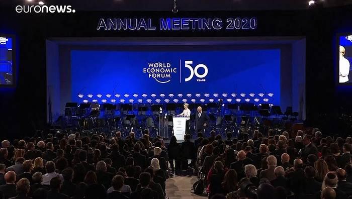Video: 50. Weltwirtschaftsforum startet